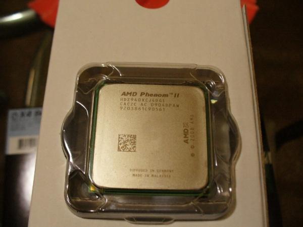 Phenom II x4 940 Black Edition en persona